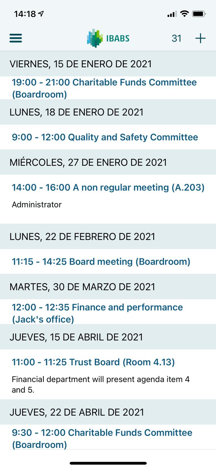 Ahorre horas de preparación de reuniones