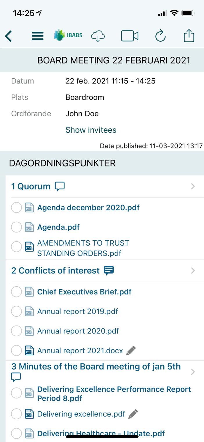 åtkomst till kalendrar och dokument dygnet runt, även offline
