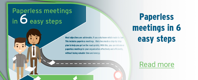 Paperless meetings in 6 easy steps – Infographic